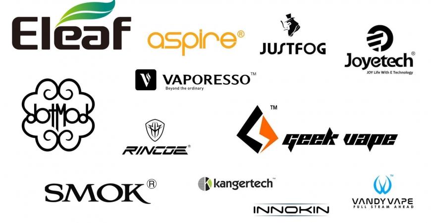 Les marques et fabricants dans la cigarette électronique PARTIE 1